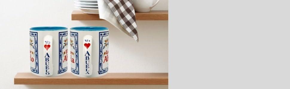 El mejor abuelo  Hispanic  Ceramic Gift Coffee Mug