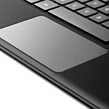 sleek touchpad