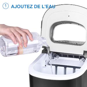 ajouter de l'eau