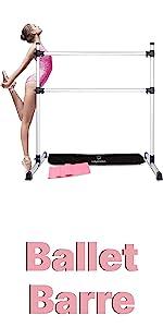 Ballet Barre Portable for Home - Adjustable Premium Ballet Barre