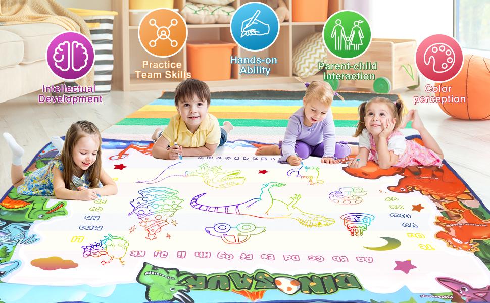 kids drawing mat