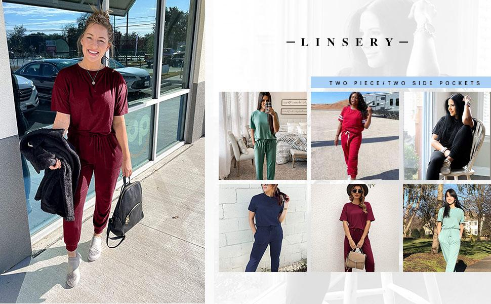 casual homewear tracksuit set workout summer outfit sets