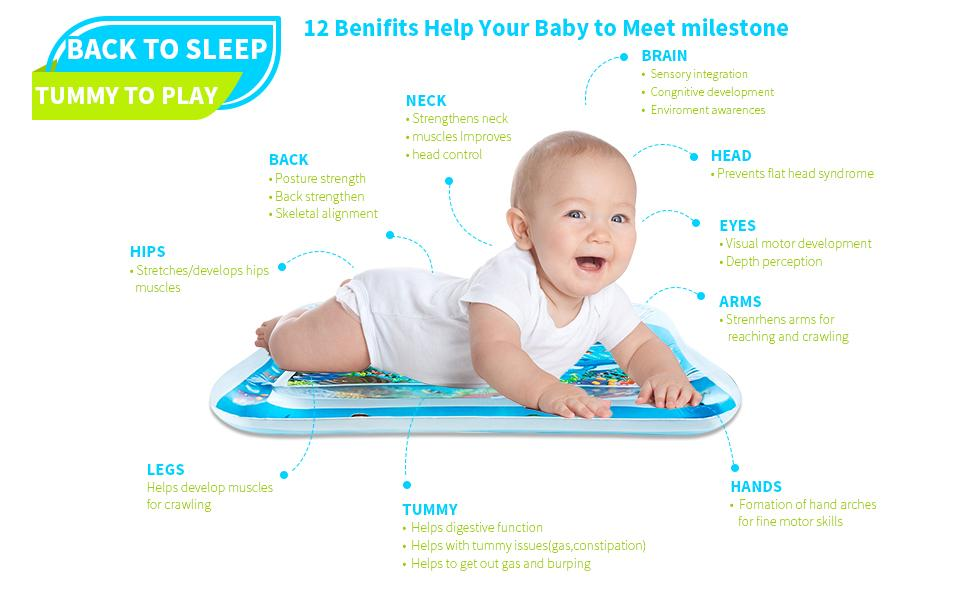 12 Benifits help your baby to meet milestone, best tummy time toy for baby