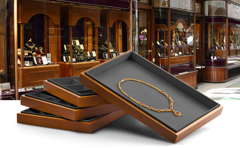 Woodten wood jewelry box