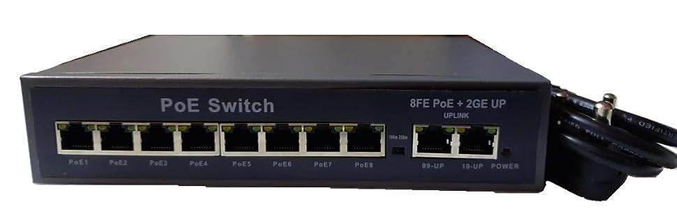 8 Port POE Switch/ 8 channel