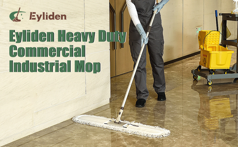 36inch Commercial Cotton Dust Mops Broom