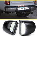 LED License Plate Light Assembly