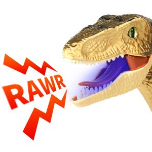 Electronic dinosaur