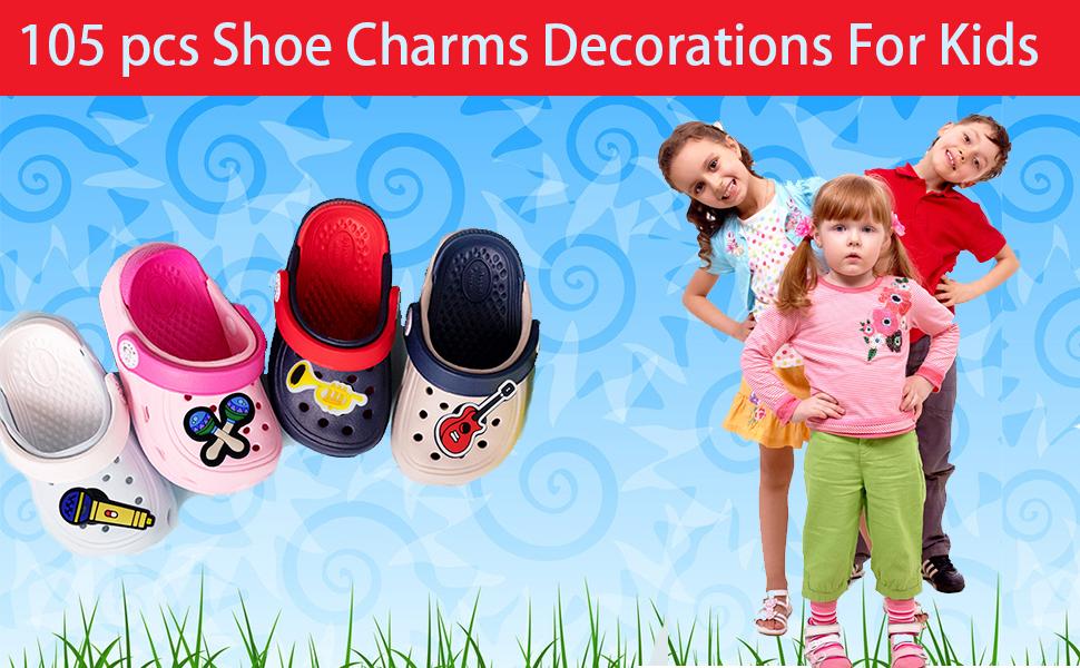 Crystal Clog Charms Shoe