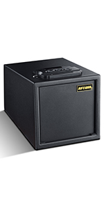 Deluxe Small Home security safe box with Biometric Fingerprint Lock