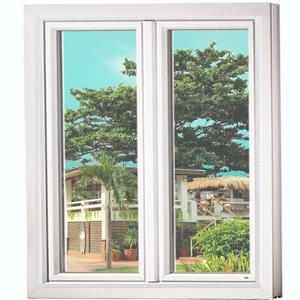 A sliding window screen with DIY window screen