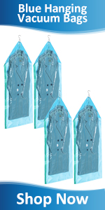 Hanging Vacuum Storage Bag space saver bags for clothes coats