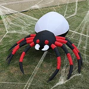blow up spider