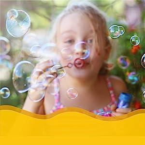 Sensory toy bubbles
