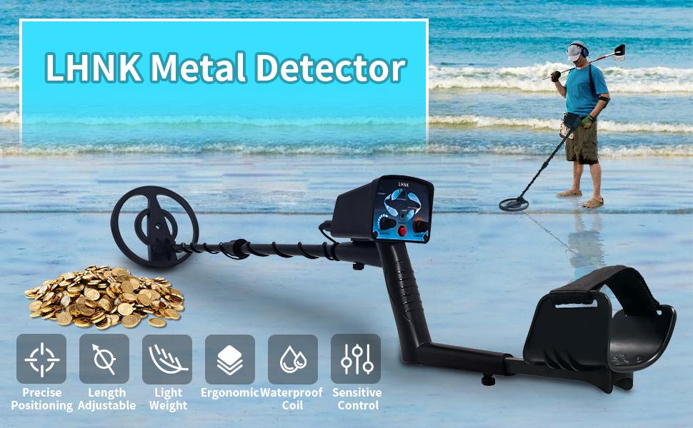 LHNK Metal Detector
