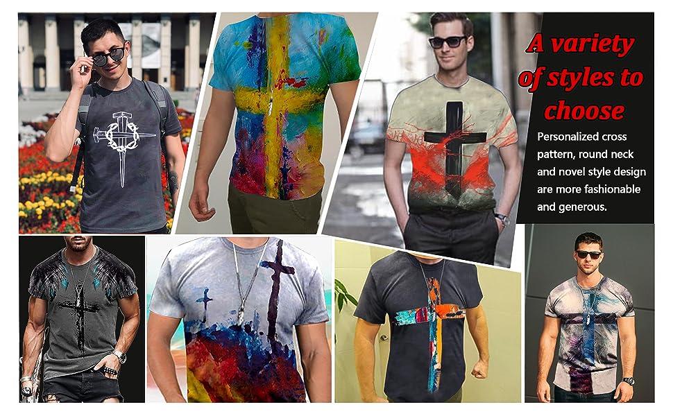 Men's Cross Faith T-shirt