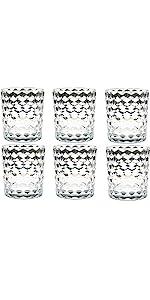 8 Oz Plastic Drinking Glasses