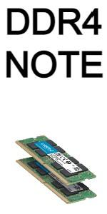 DDR4 note