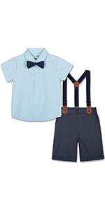 Toddler Gentleman Short Set