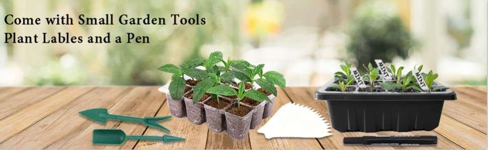 Come with small garden tools