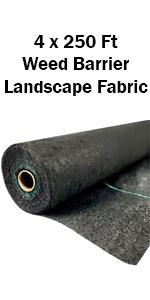 LandscapeFabric4Ftx250Ft