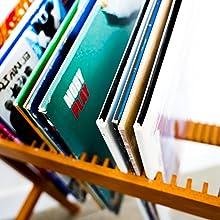 vinyl rack vinyl record holder