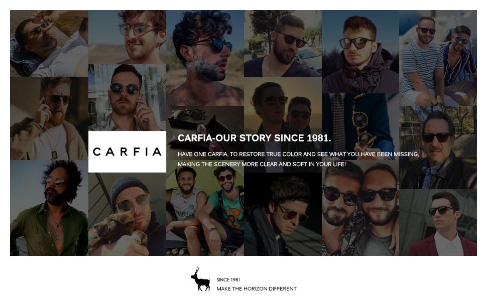 Carfia polarized mens sunglasses