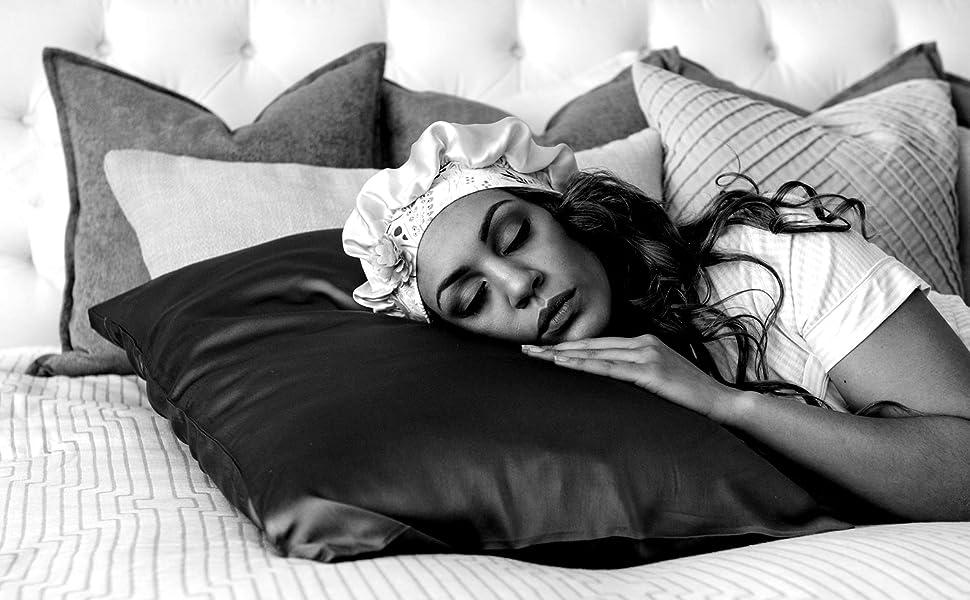 Satin pillow cases