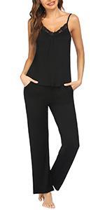 women pants pajama set