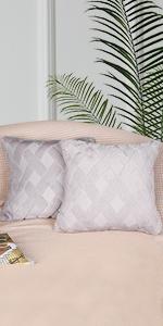 Short Plush Wool Velvet Decorative Throw Pillow Covers