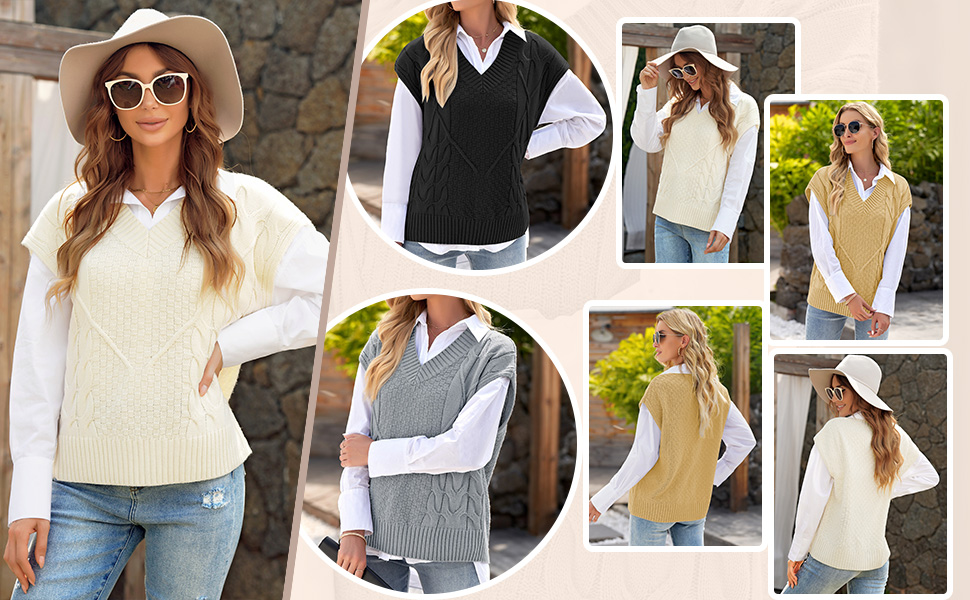 Sweater Vest for Women