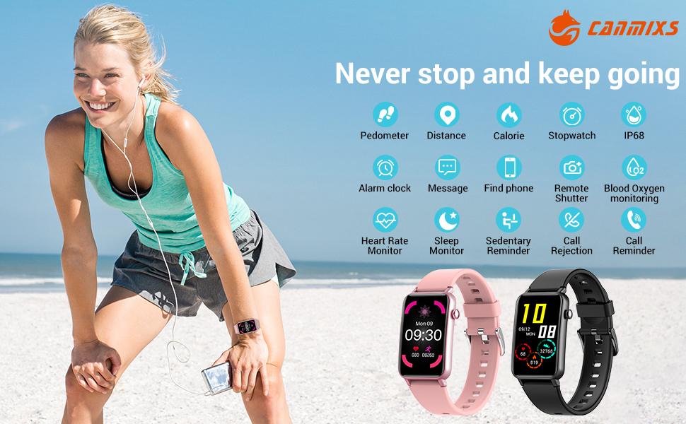 Smart watches for men women