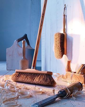 Redecker Broom and Dust Brush
