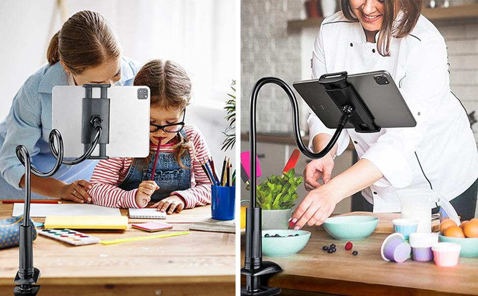 gooseneck phone and tablet mount
