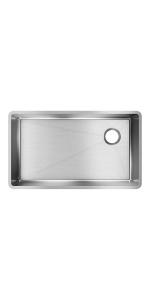 ECTRU30179RT single bowl sink