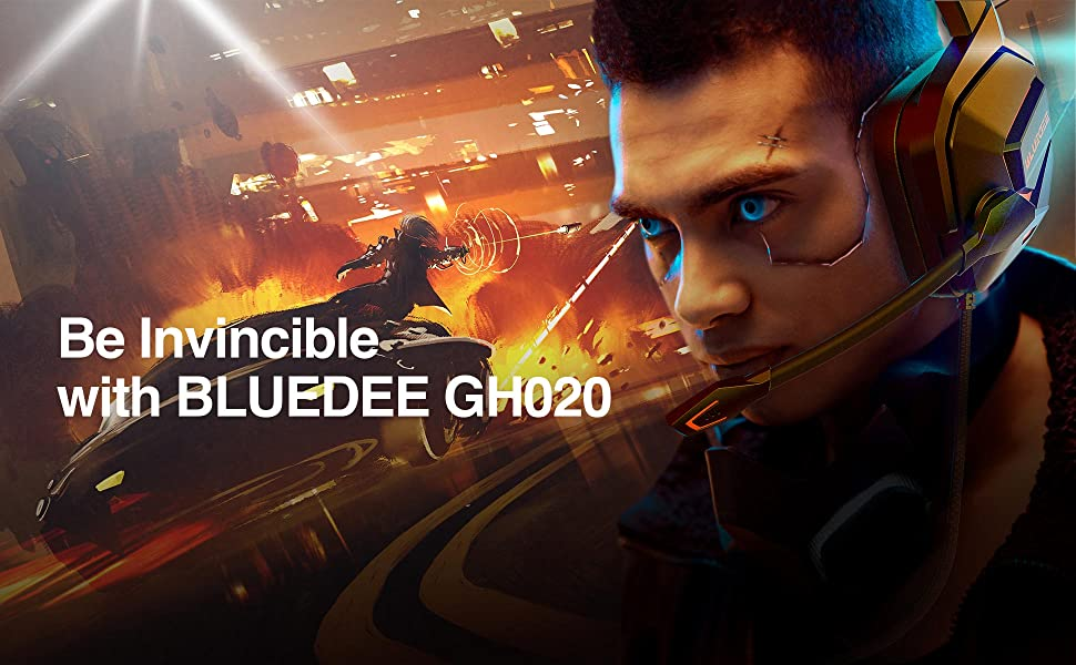 Be invincible with BLUEDEE gaming headsets