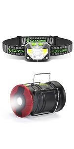Extremus Headlamp and Camping Lantern
