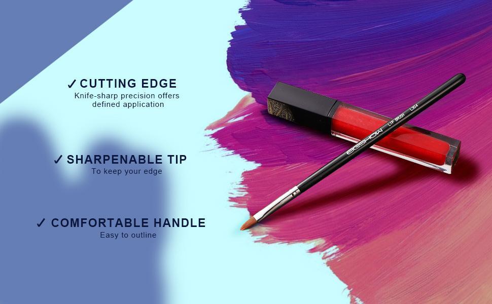 Lip Brush Set For Lipstick Gloss Brushes Applicators Eyeshadow Lip Liner Makeup Brush