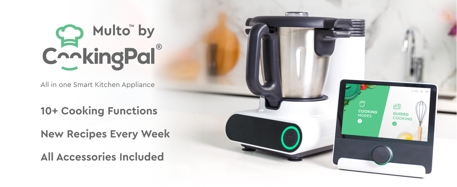 The All in One Smart Cooking Machine That Preps, Cooks and Cleans