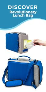 PracMedic Bags Insulated Lunch Bag For Men Women Work Nurse- Wet Wipes Holder