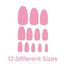 different sizes