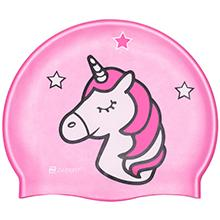 ZABERT C300 Pink Unicorn SWim Cap
