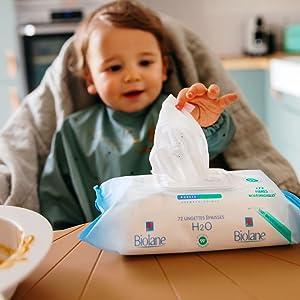 Biolane lingette bébé