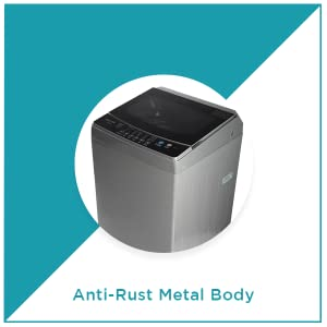 Amstrad Top Load Fully-Automatic Washing Machine Anti-Rust Metal Body