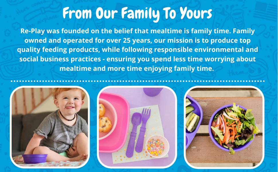 amethyst kids dinner lunch breakfast meal bowls