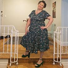 midi dress for women plus size dress summer floral print boho dress chiffon floral dress women 2021