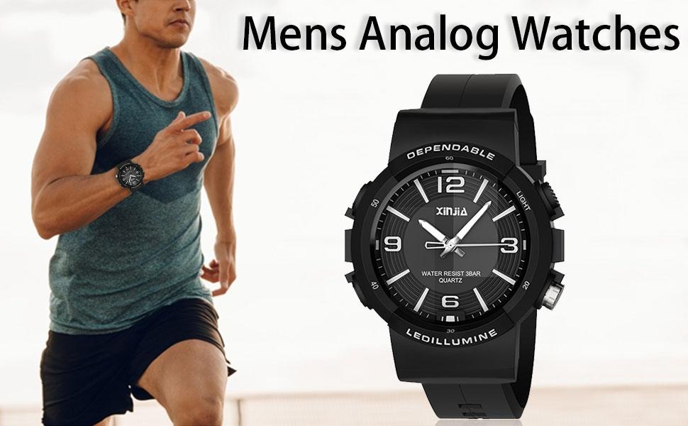 Mens Analog Watches