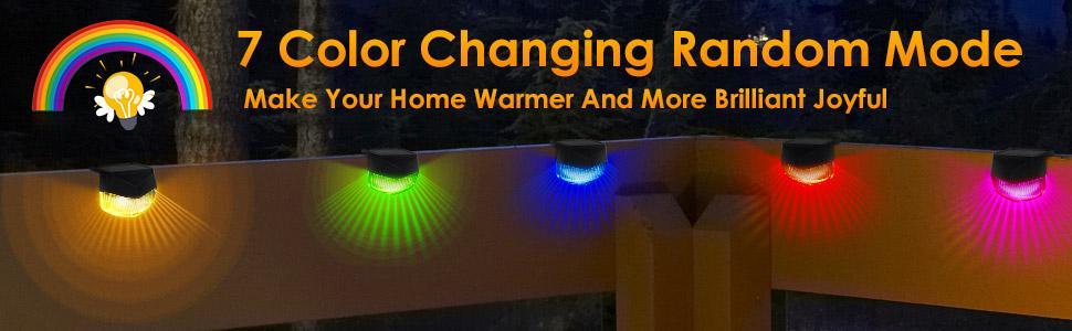 solar color chang glow light