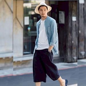 baggy pants for men beach pants for men men drawstring pants mens boho pants navy linen pants men