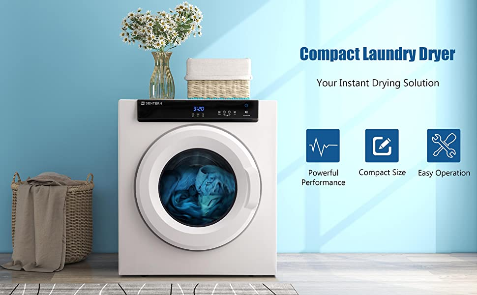 clothes dryer, compact clothes dryer